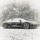 Audi R8 in the snow by NrthLondonBoy