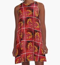 Hibiscus A-Line Dress