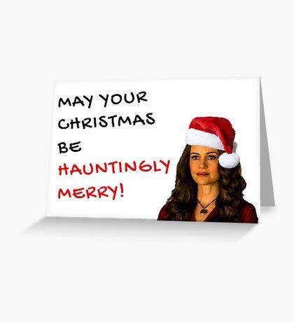 The Haunting of Hill House, regalos de Navidad, regalos, Netflix y Chill, novio, novia, esposo, esposa, mejor amigo, amigos Tarjeta de felicitación