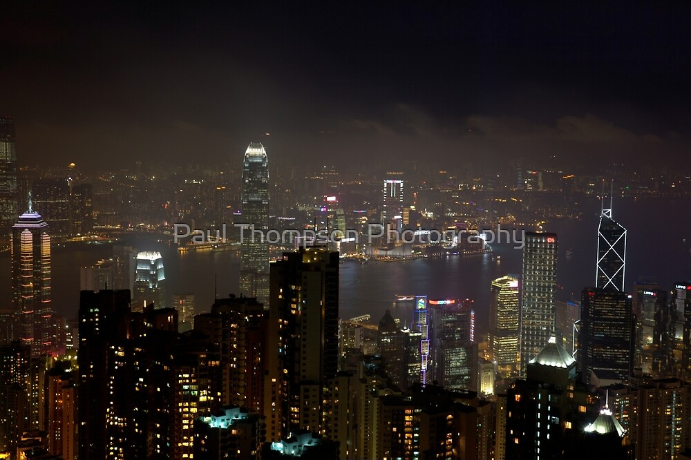 The Peak At Night by Paul Thompson Photography