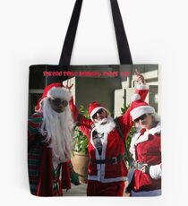 spread some holiday cheer- yo! Tote Bag
