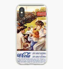 Retro Coca Cola Ad Poster 55 iPhone Case