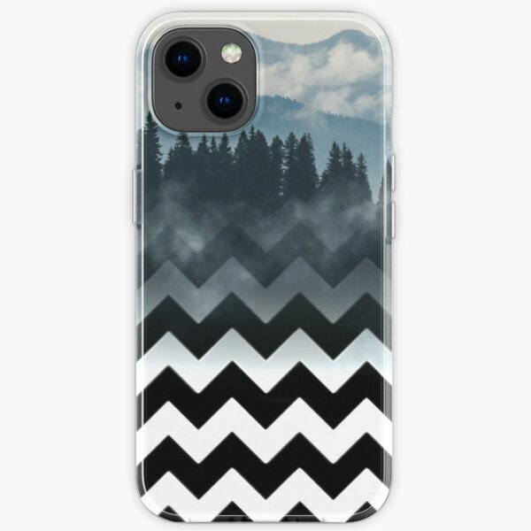 Mountains-Chevron iPhone Soft Case