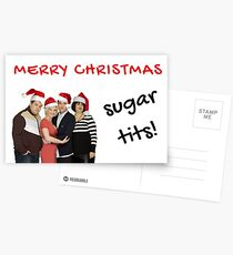 Gavin and Stacey, Christmas Gifts, Presents, Quotes, Sugar tits, Meme Christmas cards, Fun, Good vibes, Humor, Banter Postcards