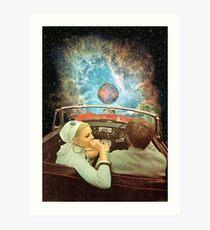 SPACE TRIP. Art Print