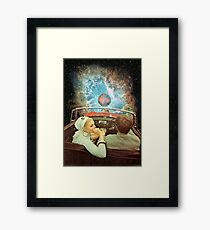 SPACE TRIP. Framed Print