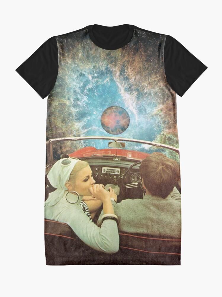 Alternative Ansicht von WELTRAUMAUSFLUG. T-Shirt Kleid