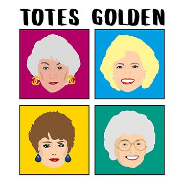 Golden Girls Tote Bag by gregs-celeb-art