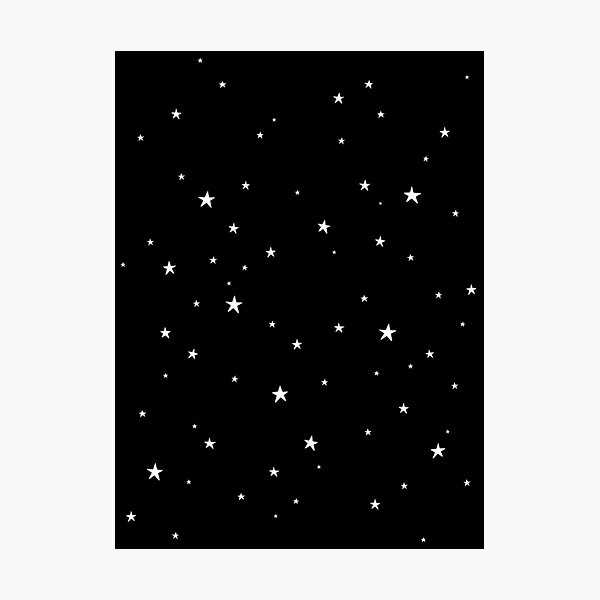 Tiny Stars Dark Photographic Print