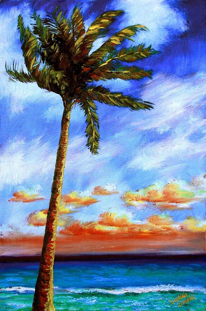 Caribbean Palm by sesillie