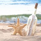 Birthday Message in a Bottle by Maria Dryfhout