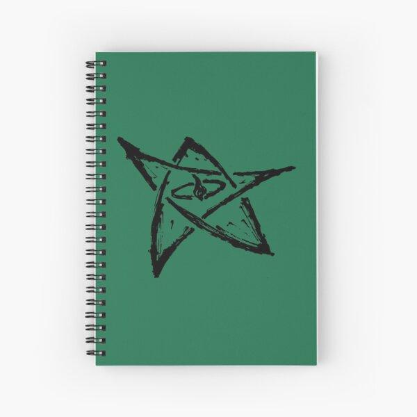 Call of Cthulhu, The Elder Sign - Ink Black Spiral Notebook