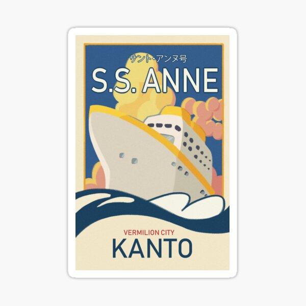 S. ANNE Sticker
