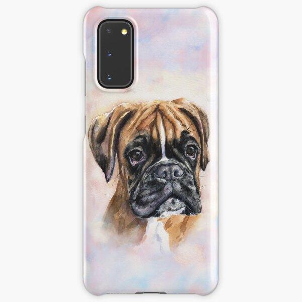 Boxer watercolor art from George Dyachenko  Samsung Galaxy Snap Case