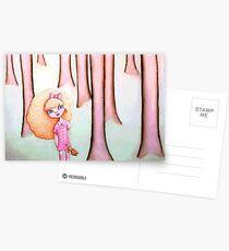 Wandering Goldilocks (Full Version) Postcards