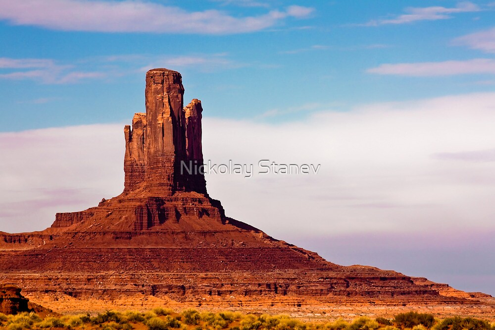 Monument Valley Pinnacle by Nickolay Stanev