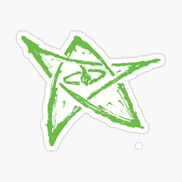 Call of Cthulhu, Elder Sign - Green Sticker