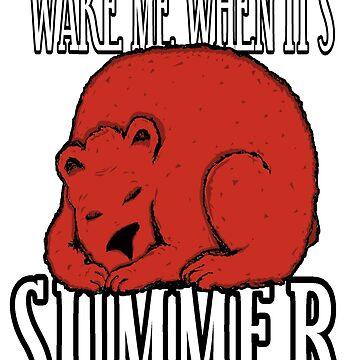 Wake Me Bear by loganferret