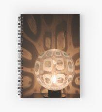 Retro Lamp 1 Spiral Notebook