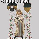 Tannhäuser, the medieval German knight and poet by edsimoneit