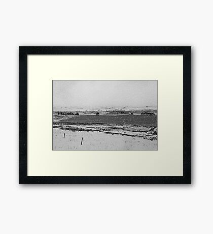 December 19th Snowfall Framed Print