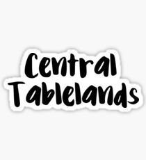 Central Tablelands Sticker