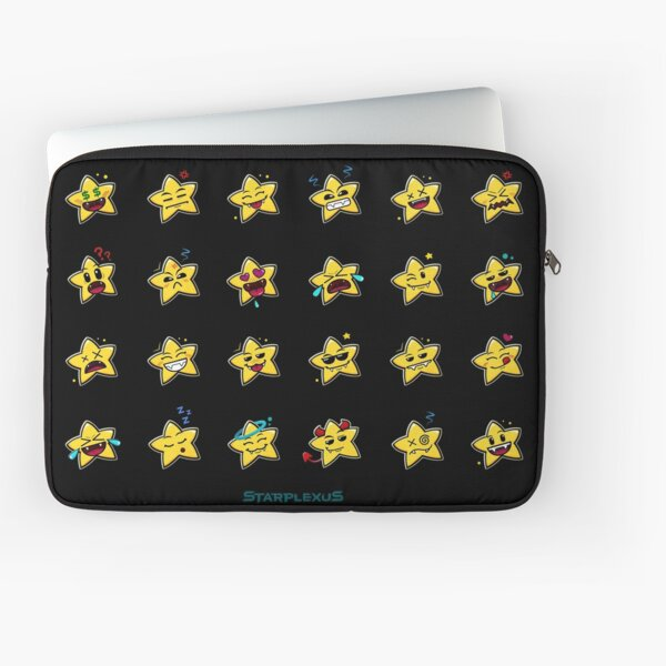 starplexus starlet emoticons Laptop Sleeve