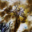 Birds, Tree and Chaos (my painting job) I by Antanas