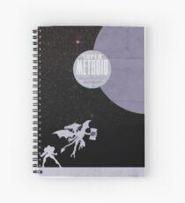 Minimalist Video Games: Super Metroid  Spiral Notebook