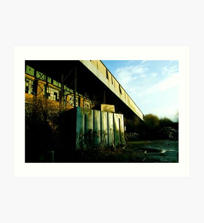 Railway Building Manchester Picadilly Art Print