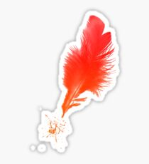 Red Quill Sticker