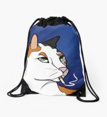 Smoker's Meow Drawstring Bag