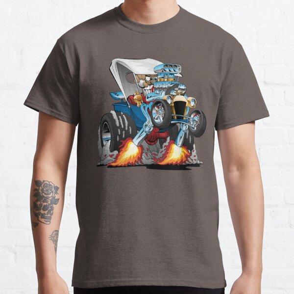 Custom T-bucket Roadster Hotrod Cartoon Illustration Classic T-Shirt