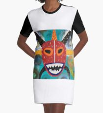Vejigante  Graphic T-Shirt Dress