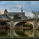 Poitiers, Church of St. Rodigonda by Anatoliy