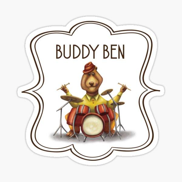 Buddy Ben Sticker