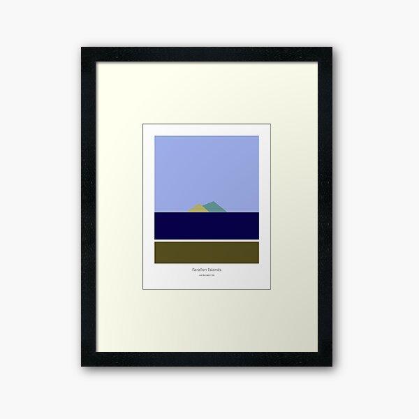 Farallon Islands Framed Art Print