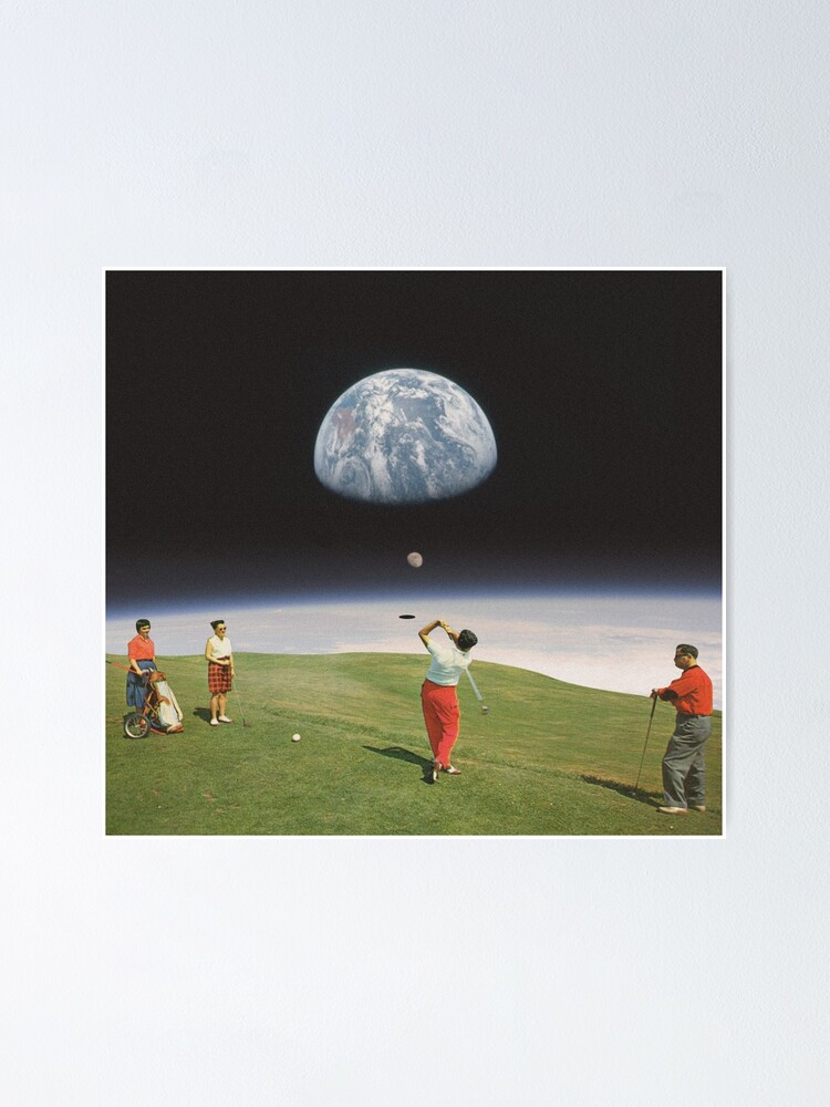 Alternate view of Galactic Golfers Poster