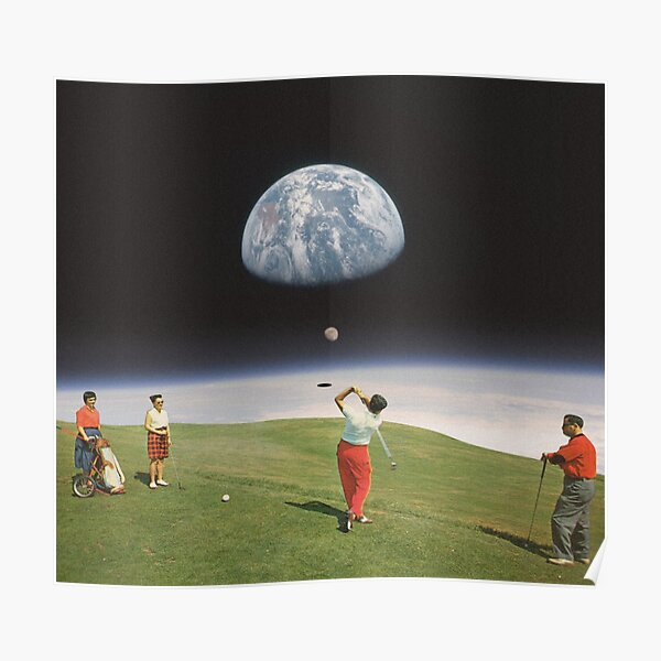 Galactic Golfers Poster