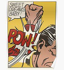 Roy Fox Lichtenstein, Sweet Dreams Baby!, 11 Pop Artists, 1965 Artwork, Men, Women, Kids, Posters, Prints, Bags, Tshirts Poster