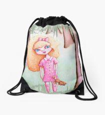 Wandering Goldilocks (Worn, Distressed, Vintage-y Version) Drawstring Bag