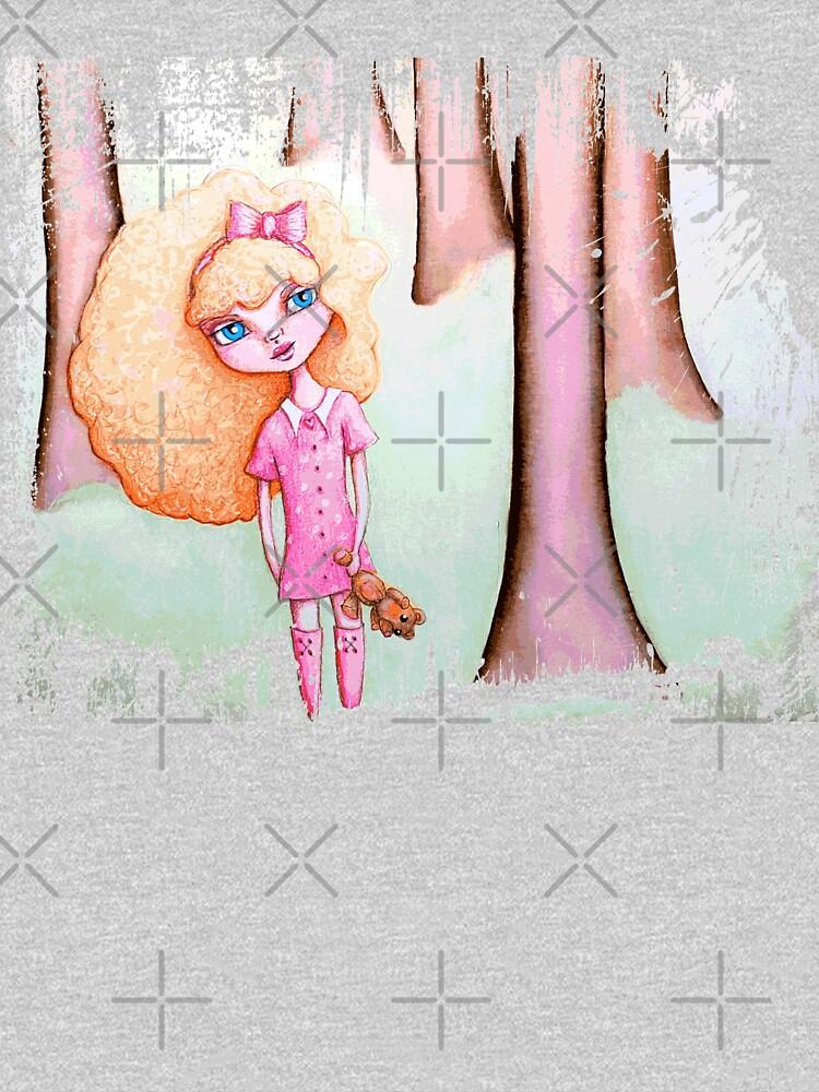 Wandering Goldilocks (Worn, Distressed, Vintage-y Version) by LittleMissTyne