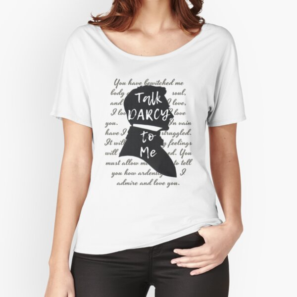 Literary Gift, Jane Austen, Funny Book Lover,  Relaxed Fit T-Shirt