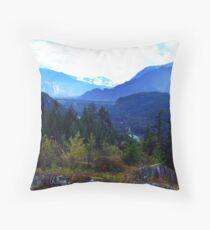 Coast Mountains,B.C. Throw Pillow