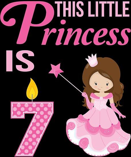 Princess Birthday Gift 7 Year Old