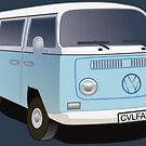 Kombi Krew: Flipper Blue by Aakheperure