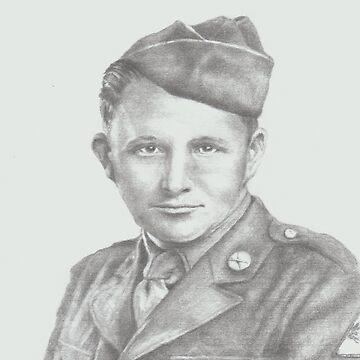 World War II soldier by phumbargar