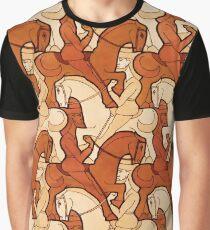 Horseman tessellation Graphic T-Shirt