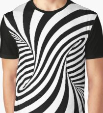 Op Art Trippy Optical Illusions Graphic T-Shirt
