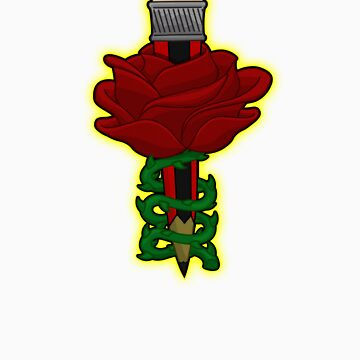 penciled rose by cgreendesign
